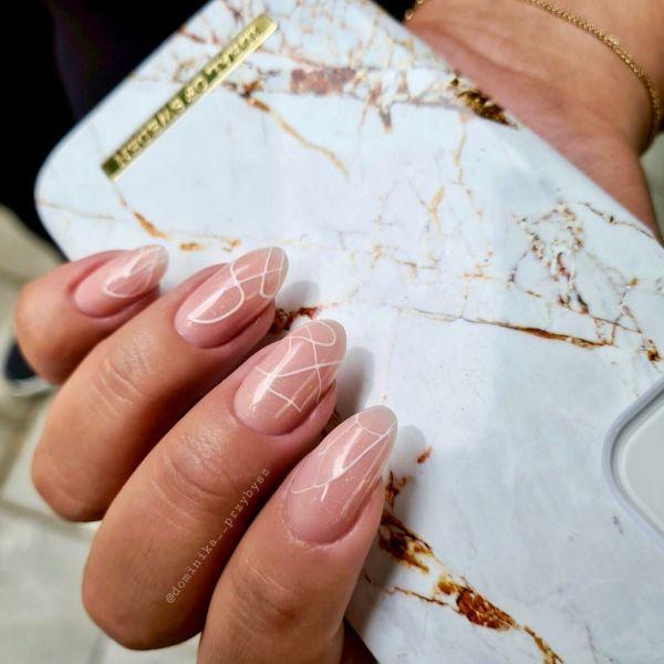 Gel Polish - Cover Base Gold Shimmer, 10ml