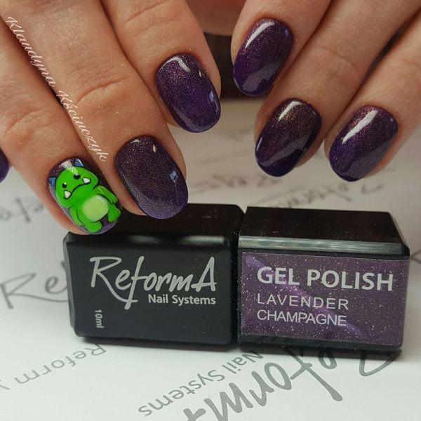 Gel Polish - Lavender Champagne, 10ml