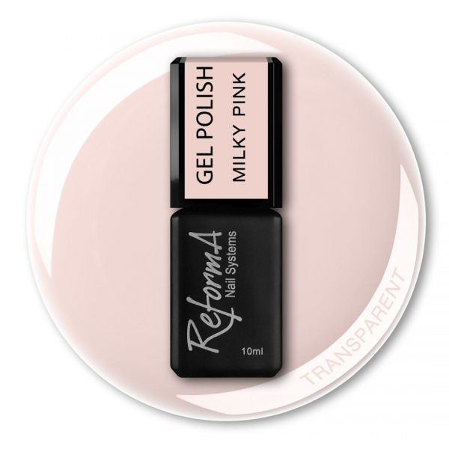 Gel Polish - Milky Pink, 10ml