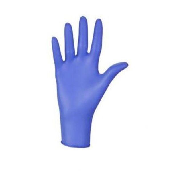 Niebieskie rękawiczki, 100szt -  rozm.S
