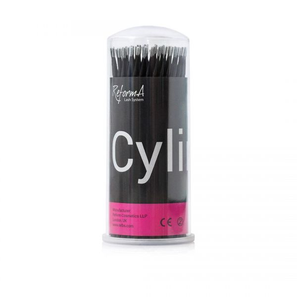 Microbrush Cylinder black dia 1.2 mm, 100 pcs/tube