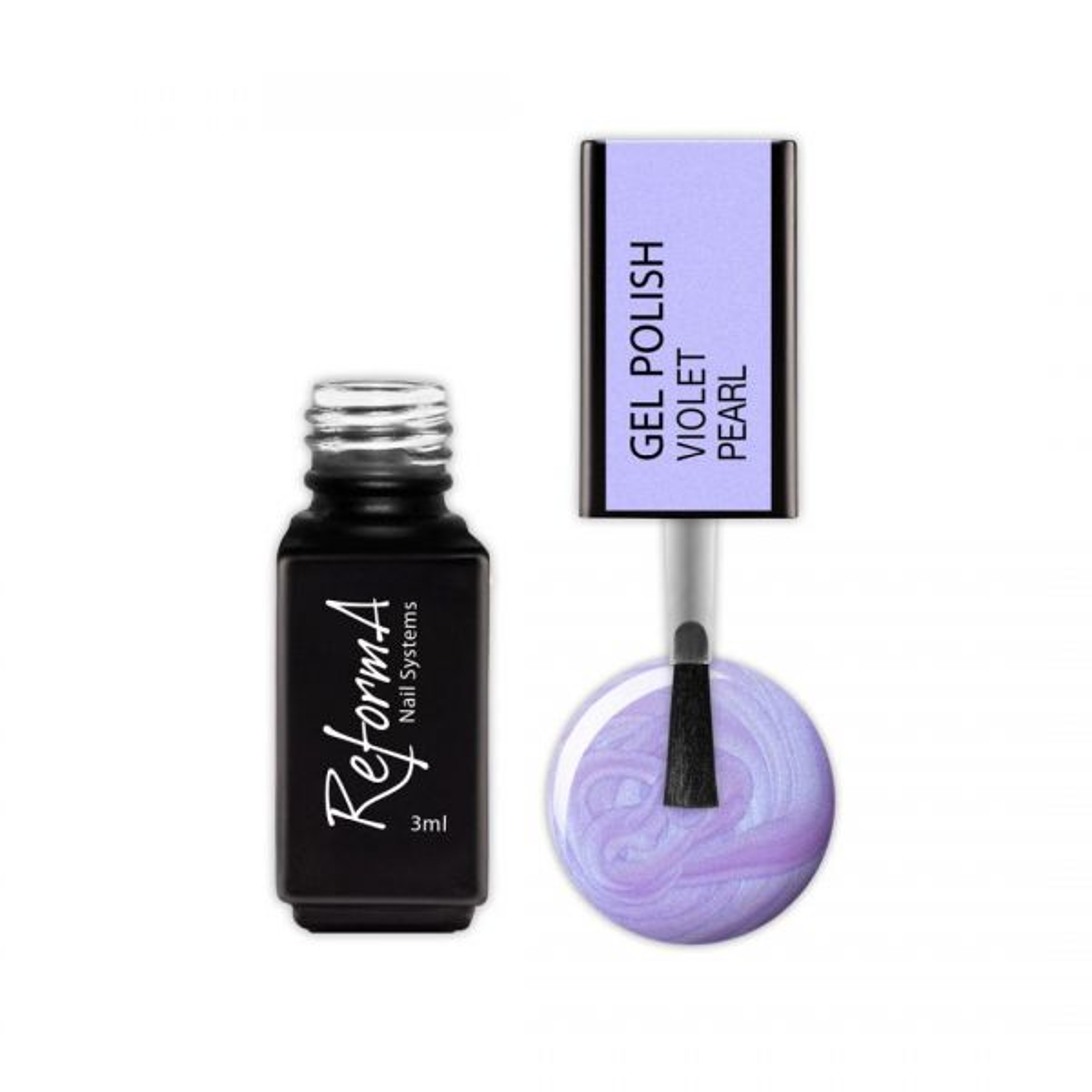 Gel Polish - Pearl Violet, 3ml