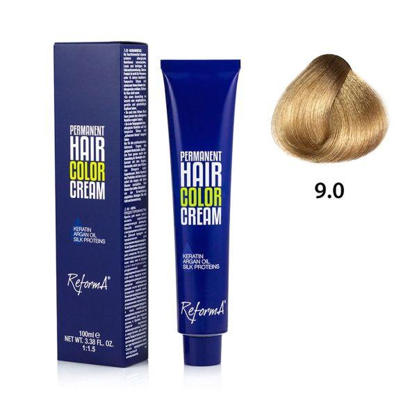 Krem koloryzujący - 9.0 - bardzo jasny blond, 100ml