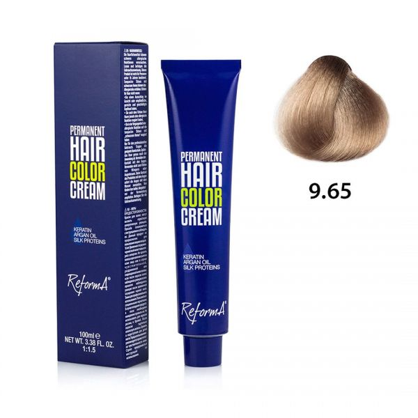 Krem koloryzujący - 9.65 - bardzo jasny blond opalizująco różowy, 100ml