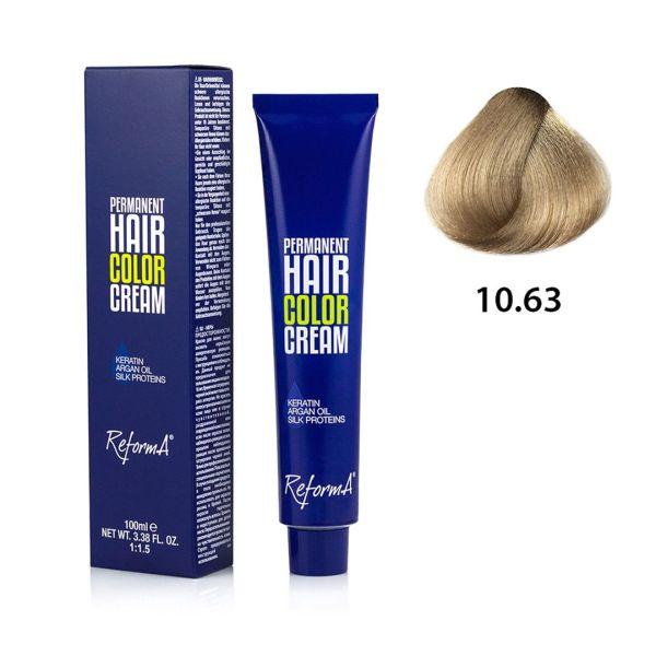 Krem koloryzujący - 10.63 - bardzo jasny blond opalizująco złocisty, 100ml