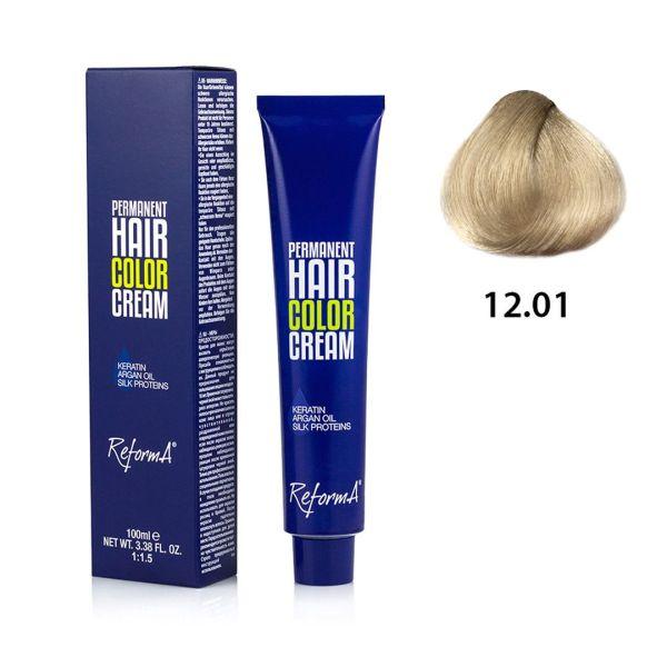 Krem koloryzujący - 12.01 - extra jasny popielaty blond, 100ml