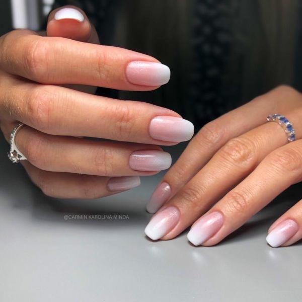 Gel Polish - Cover Base Silver Shimmer, 3ml