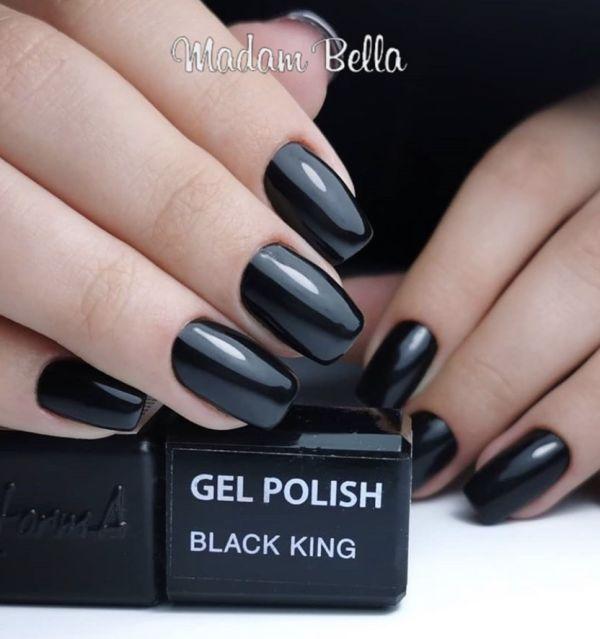 Gel Polish - Black King, 3ml