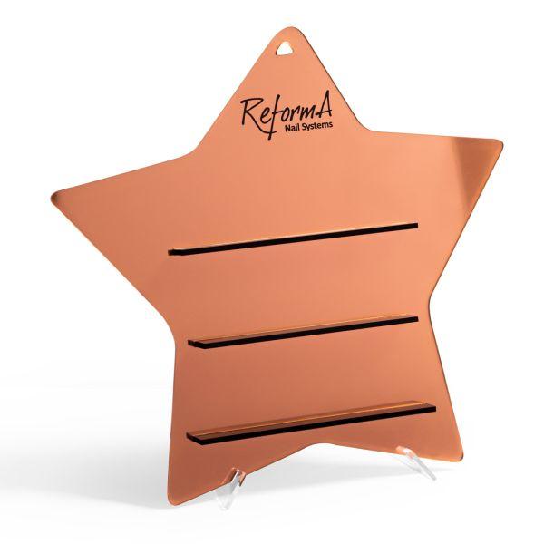 ReformA Star Display - copper gold