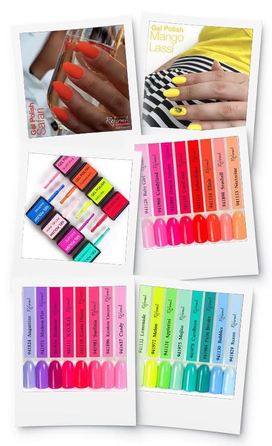 kolaż - wzorniki kolorów 2021