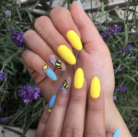neonowy słonecznikowy żółty