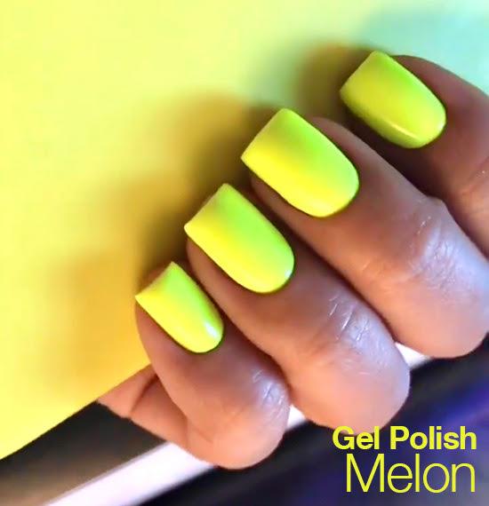 pastele i neony - paznokcie wiosna lato 2021
